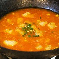 茄汁玉米龙利鱼的做法图解7