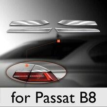 Autocollant de lumière de frein pour Passat B8, accessoires de voiture pour Volkswagen chromé, accessoire automatique pour modèles Passat 2015 – 2019 accessoire extérieur pour passat