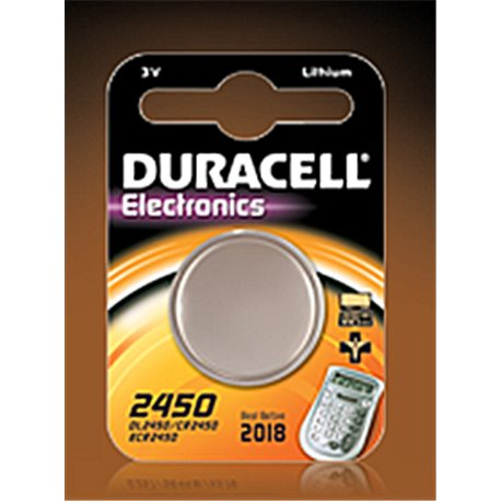 BUTTON BATTERY 2450 DURACELL 2450