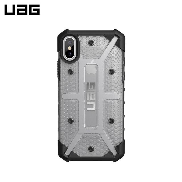 Защитный чехол UAG Plasma для iPhone X Ice (Transparent)