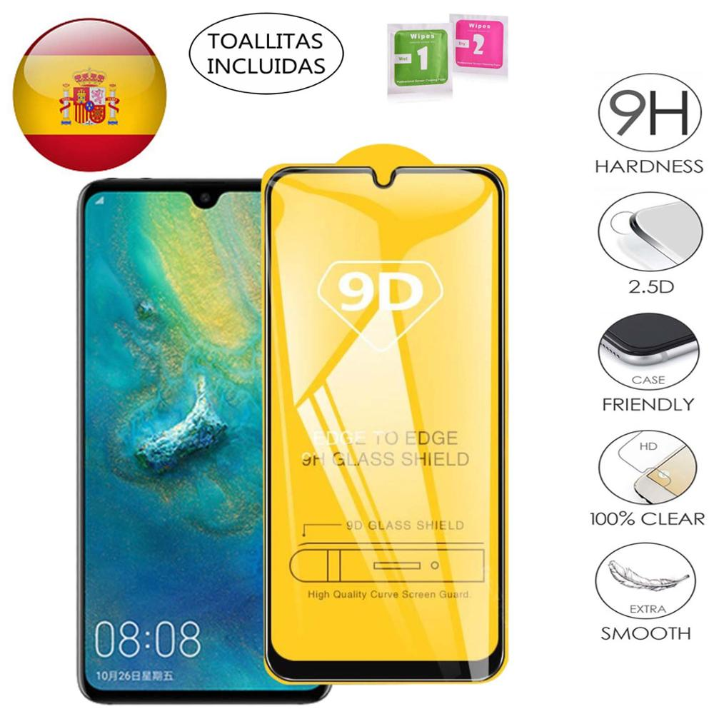Full Tempered Glass Screen PROTECTOR For Huawei P 30 P30 P30 Lite P 30 Lite Black