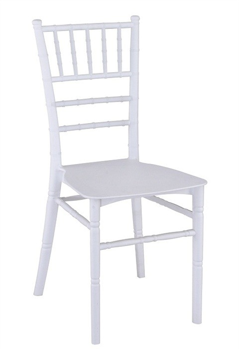 CHIAVARI Chair 19, Polypropylene White *
