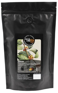 Свежеобжаренный coffee Taber decaf (decaf) in grains, 200g