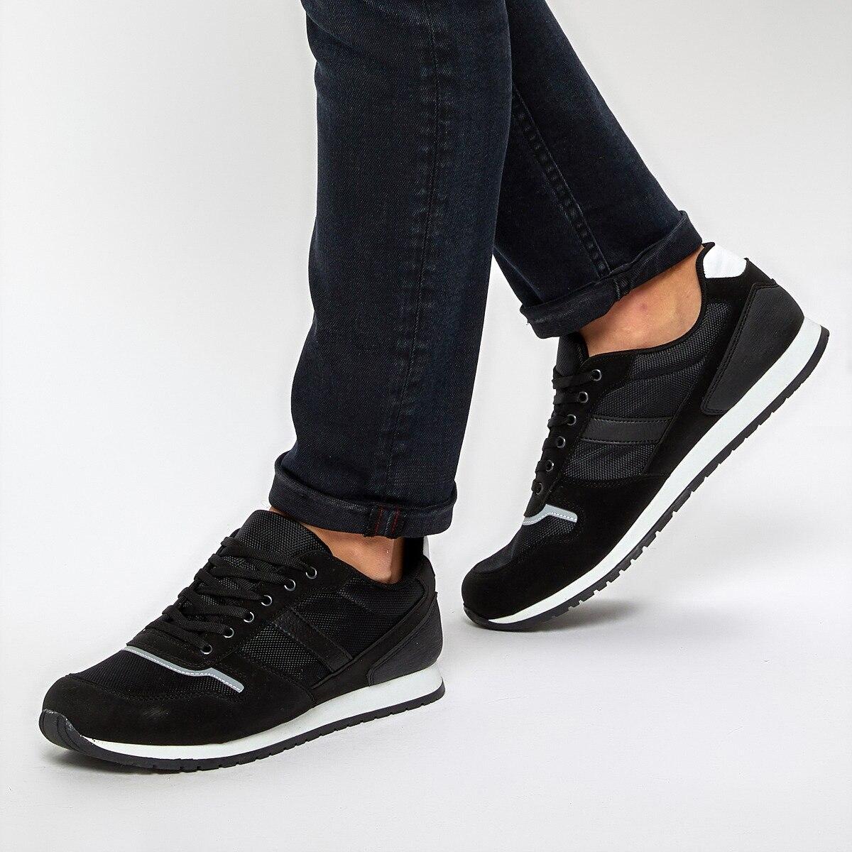 FLO 92.356072.M 黒人男性の靴ポラリス