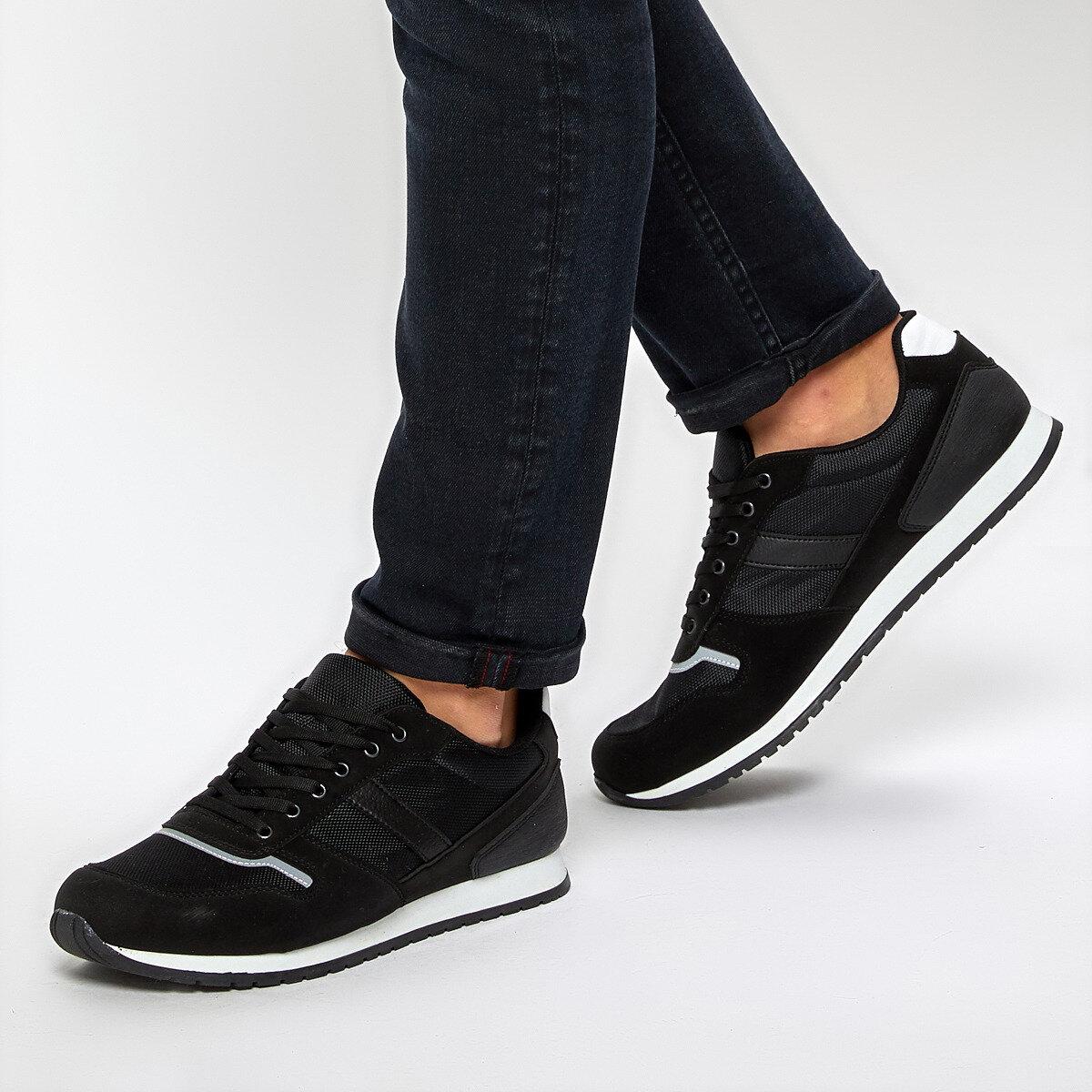 FLO 92.356072.M zapatos negros Polaris