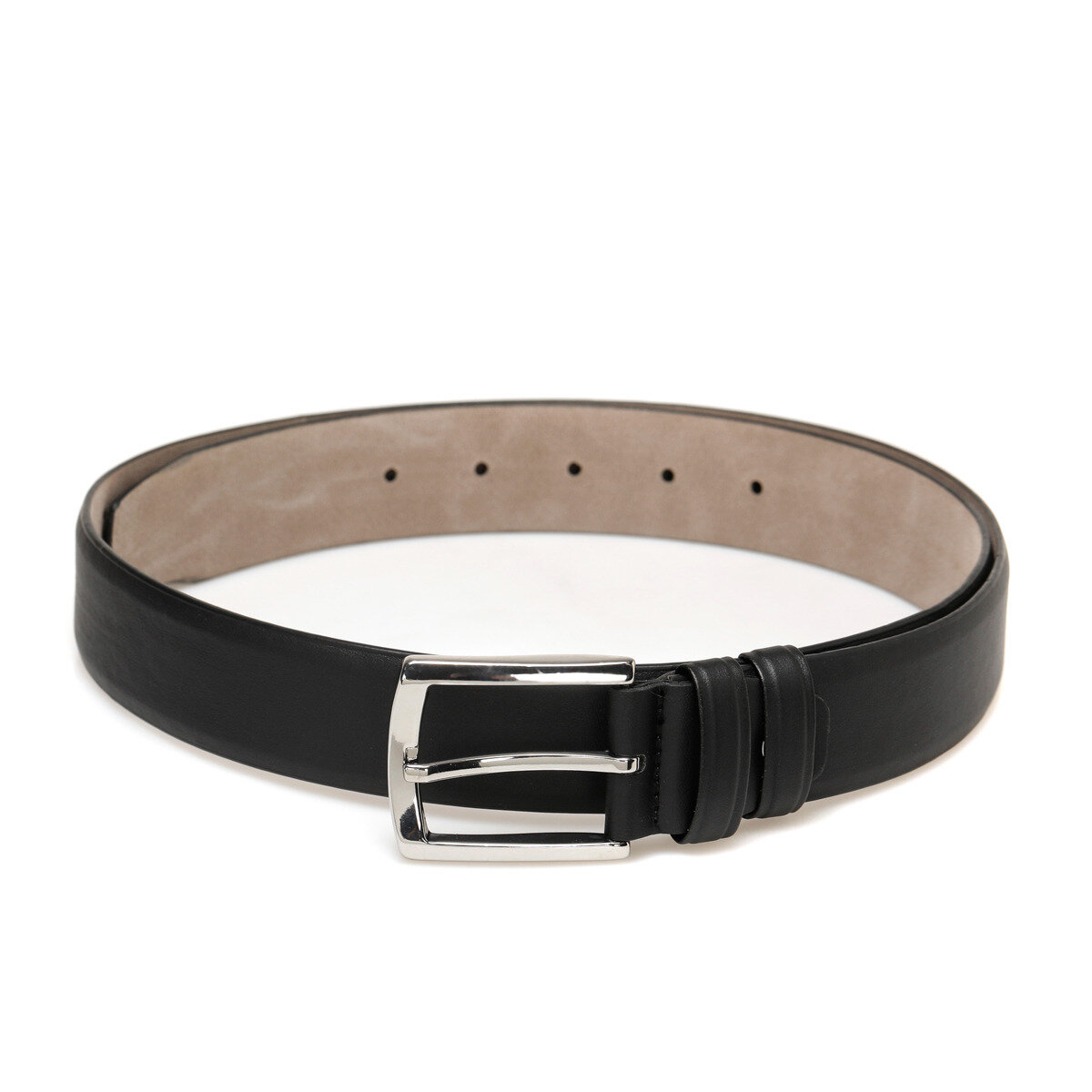 FLO 20M GK CO SEAMLESS Black Male Belt Garamond