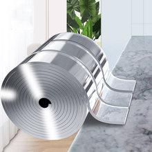Cinta adhesiva transparente de doble cara para baño y cocina, pegatinas de pared resistentes al agua reutilizables, Nano mágico, 3M