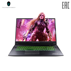 Gaming Laptop Thunderobot 911 Plus 17.3 Ips Full Hd/I7-9750h/Nvidia Gtx 1650 Gb/8 Gb /512 Gb Ssd/Dos Zwart