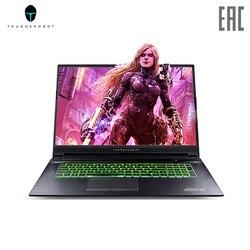 Gaming laptop thunderobot 911 plus 17.3 IPs Full HD/i7-9750h/Nvidia GTX 1650 GB/8 GB/512 GB SSD/DOS Black