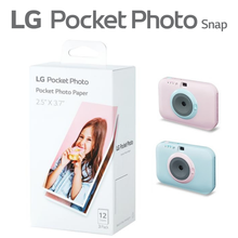 Бумага для мгновенной фотосъемки LG Pocket Photo Snap (36 листов)