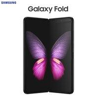 Original New Samsung Galaxy Fold Smartphone/Tablet 2 in 1 4.6/7.3 Display 12G RAM 512G Storage Android 12MP Triple Rear Camera