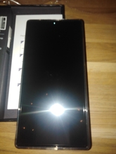 Phone in good condition received. Not packed in bubble plastic, but completely undamaged. Battery f