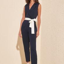 Trendyol Belted Jumpsuit TWOSS20TU0052