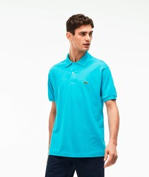 LACOSTE POLO L.12.12 BASIC poloshirts fashion short sleeve bright color blue BRand Crocodile for men