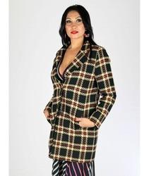 WRAP BOXES WRAP Long Women Jacket Elegant with Lapels Autumn/winter collection office