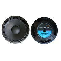 STARAUDIO Dual 12 2000W Raw Replacement Subwoofers 8 Ohm Woofer 40oz Magnet PA DJ Speaker Home Audio Woofer Bass SDC 1240
