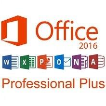 Office 2016 Pro – clé de vente au détail, 1 utilisateur, multilingue, livraison gratuite
