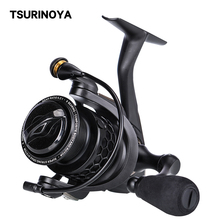 TSURINOYA Spinning Fishing Reel NA 4000 5000 9BB 5.2:1 Grae Ratio Saltwater Coils Fishing Reel Carp Fishing Tackles