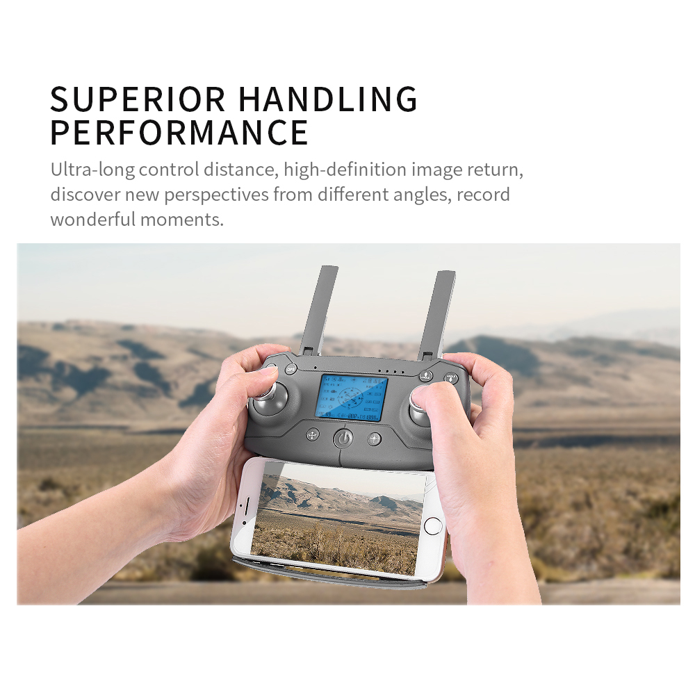 L109 RC Quadcopter Professional Drone 4K GPS HD Camera 5G WIFI FPV Brushless Motor 50X Zoom Electronic Stabilization Lens Follow