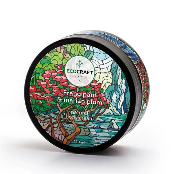 Ecocraft Body Cream Frangipani And Mariana Plum
