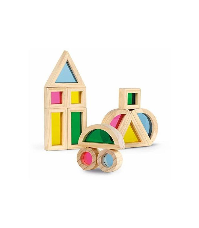 Color Blocks Inspired By Montessori Toy Store