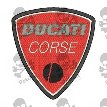 DUCATI Corse Parche Bordado, Sắt Vá, Gestickter Vá, Vá Brode, Remendo Bordado, Toppa Ricamata