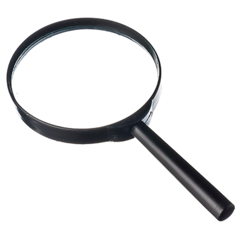 Magnifier Magnifying D10CM, PLASTIC, 3X INCREASING, ENLARGING GLASS