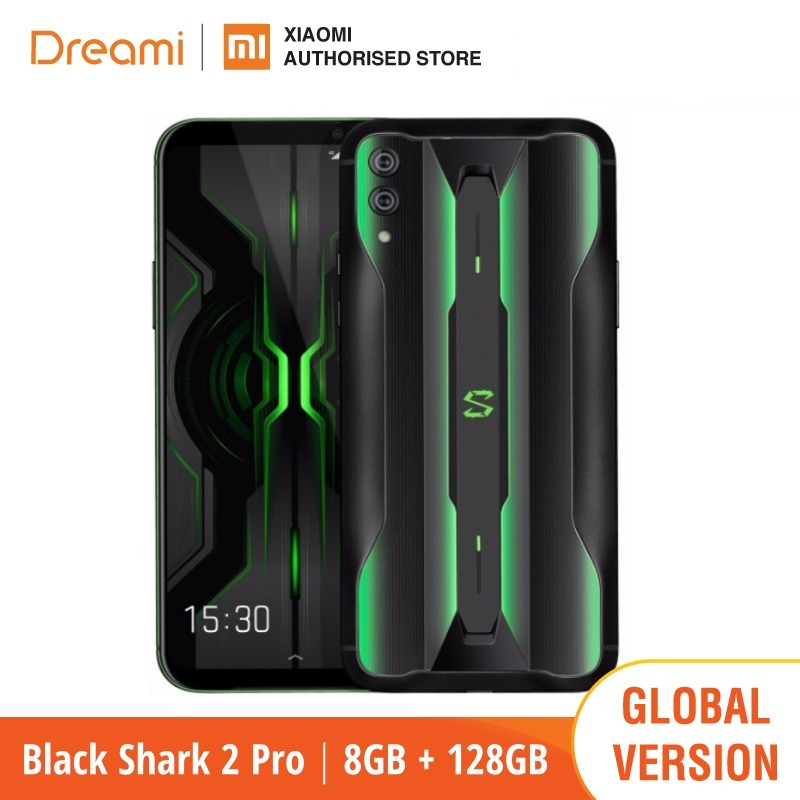 Global Version Black Shark 2 PRO 128GB ROM 8GB RAM Gaming (Brand New / Sealed Box) blackshark2pro blackshark Smartphone Mobile