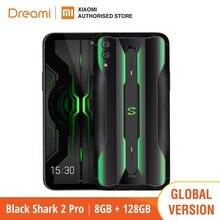 Küresel sürüm Black Shark 2 PRO 128GB ROM 8GB RAM oyun (marka yeni/mühürlü kutu) blackshark2pro blackshark Smartphone cep
