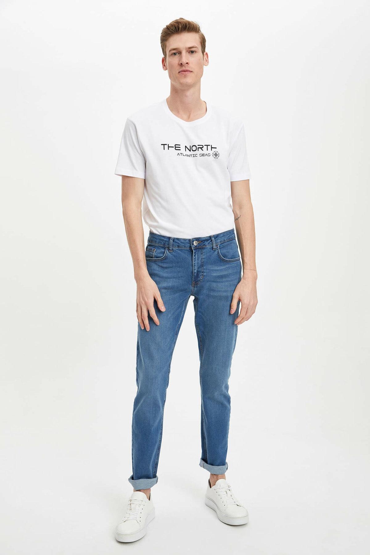 Pantalones Vaqueros Azules Defaw Para Hombre Pantalones Vaqueros Rectos Para Hombre Pantalones Vaqueros Informales Para Hombre Pantalones Vaqueros Para Hombre Trousers R2525az20sm Para Hombre Aliexpress
