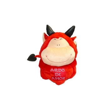 Demon 45cm plush toy with heart [Ardo Love] 45cm