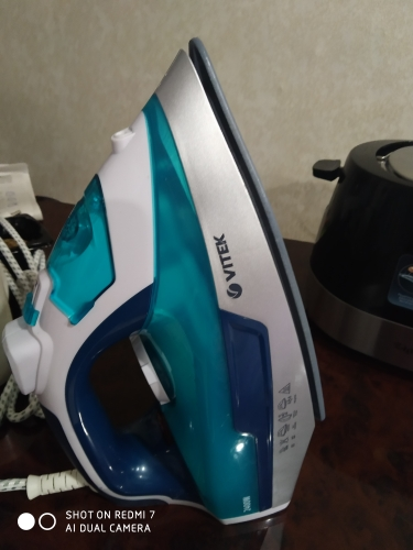Electric Iron Vitek VT 1266 for ironing irons steam Household for Clothes Burst of Steam electricsteam electriciron electric iron iron electricelectric irons - AliExpress