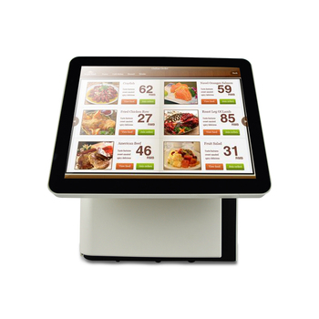 Free Shipping 15+15'' dual screen capacitive screen POS system for retailers Point of Sales POS terminal