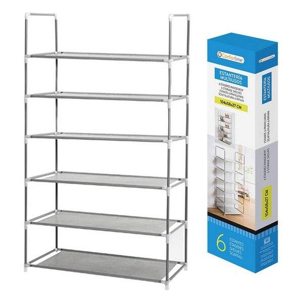 Shelves Confortime Shoe Rack 6 Shelves (104 X 58 X 27 Cm)