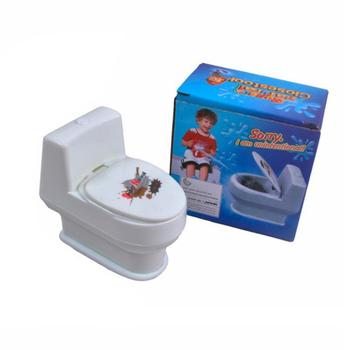 Squirty Toilet Prank Toy Creative Gift Toy April Fool's Day Tricky Toy Water Spray Toilet Small Toilet Tricky Toilet Item image