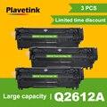 Plavetink Совместимость Q2612A q2612 2612a 12a 2612 тонер-картридж для hp LaserJet LJ 1010 1020 1015 1012 3015 3020 3030 3050