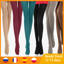 Stockings Black Tight Pantyhose Multicolour Elastic 120D Candy-Color Sexy Autumn Woman