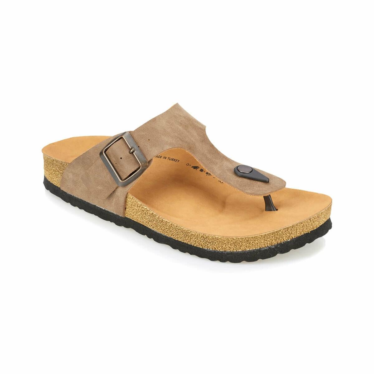FLO MEROL Sand Color Male Slippers KINETIX