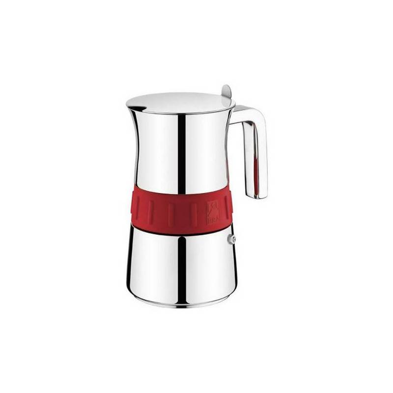 Italian Coffee Maker BRA A170566 (4 Cups) Stainless Steel