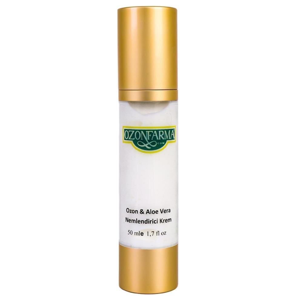 creme hidratante 15spf ozonio aloe vera anti envelhecimento 50 ml