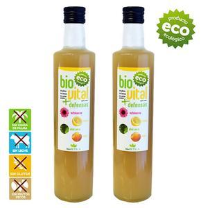 Lemon juice, juice press aloe vera, honey and echinacea. Natural mix 100% eco-friendly-GLUTEN free-no NUTS 2 units