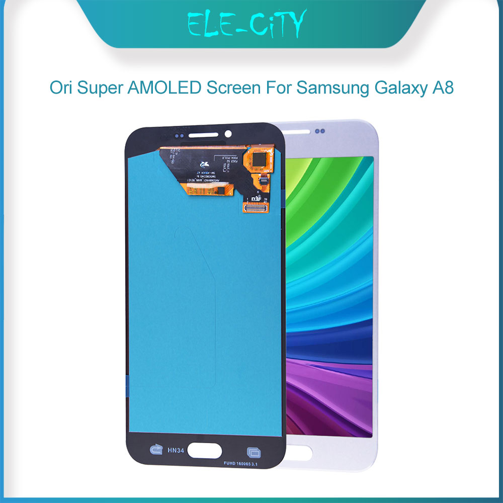 Ori For <font><b>Samsung</b></font> Galaxy A8 (2018) A530F (2016) <font><b>A810</b></font> A800 Super AMOLED Display With Touch Screen Digitizer Assembly Replacement image