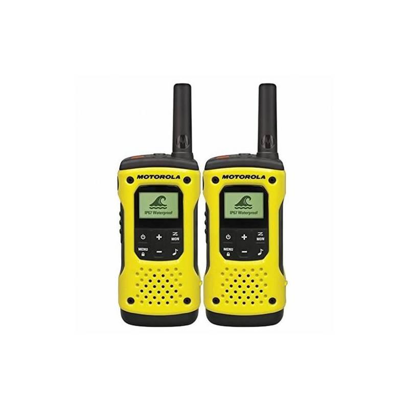 Walkie-Talkie Motorola T92H2O (2 Pcs) Yellow Black