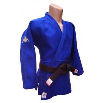 Judogi Kappa Atlanta IJF azul slim fit