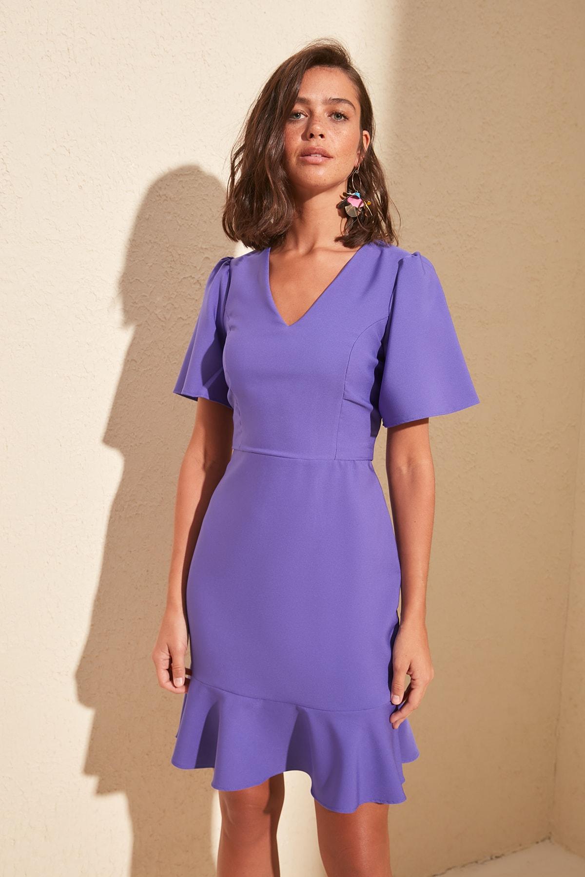 Trendyol Flounces Dress TWOSS20EL1748
