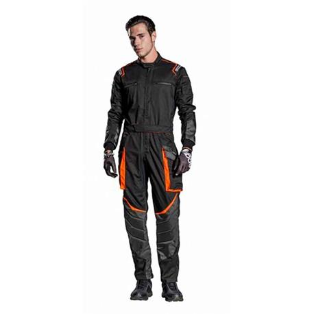 S002016NR4XL-Dungarees Ms-7 Black Size XL Sparco
