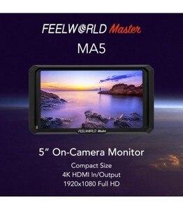 Feelworld master ma5 monitor de campo 5