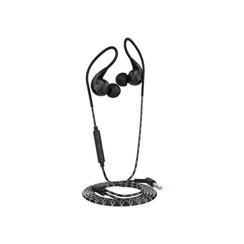 Sports <font><b>Headphones</b></font> Go & Play Sport <font><b>Extra</b></font> <font><b>Bass</b></font> 1,3 m Black image
