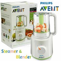 PHILIPS AVENT SCF870 / 22 Wasabi BPA FREE Healthy Baby Food Juice Soup Maker Steamer Blender for Food to Nursery / Baby 220V