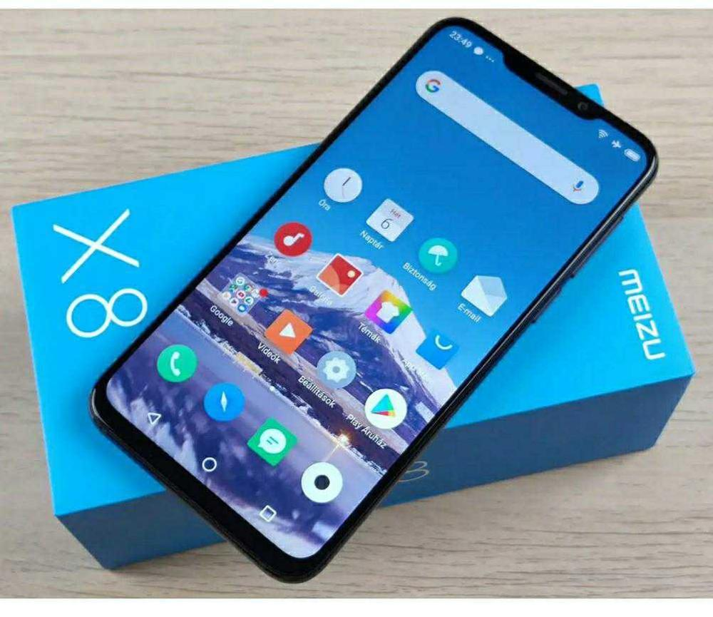 """Smartphone Meizu X8 / 4 + 64 GB   screen 6.2 """"  AI Face Unlock   game phone with fast charging/delivery in Russia Cellphones    - AliExpress"""